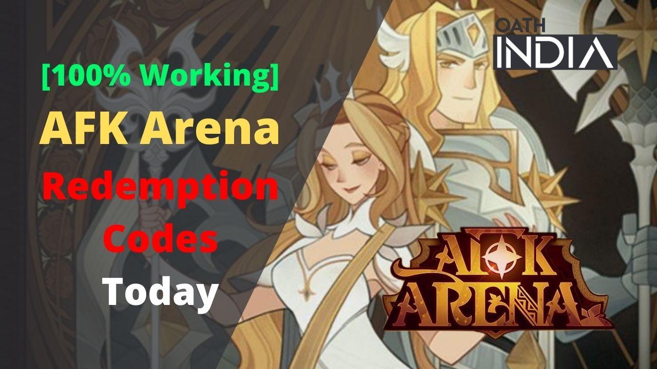 [100% Working] AFK Arena Redemption Codes Today