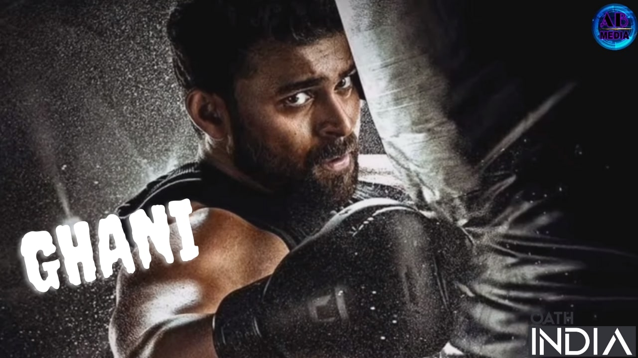 Ghani (2021 Film) Telugu Movie Poster