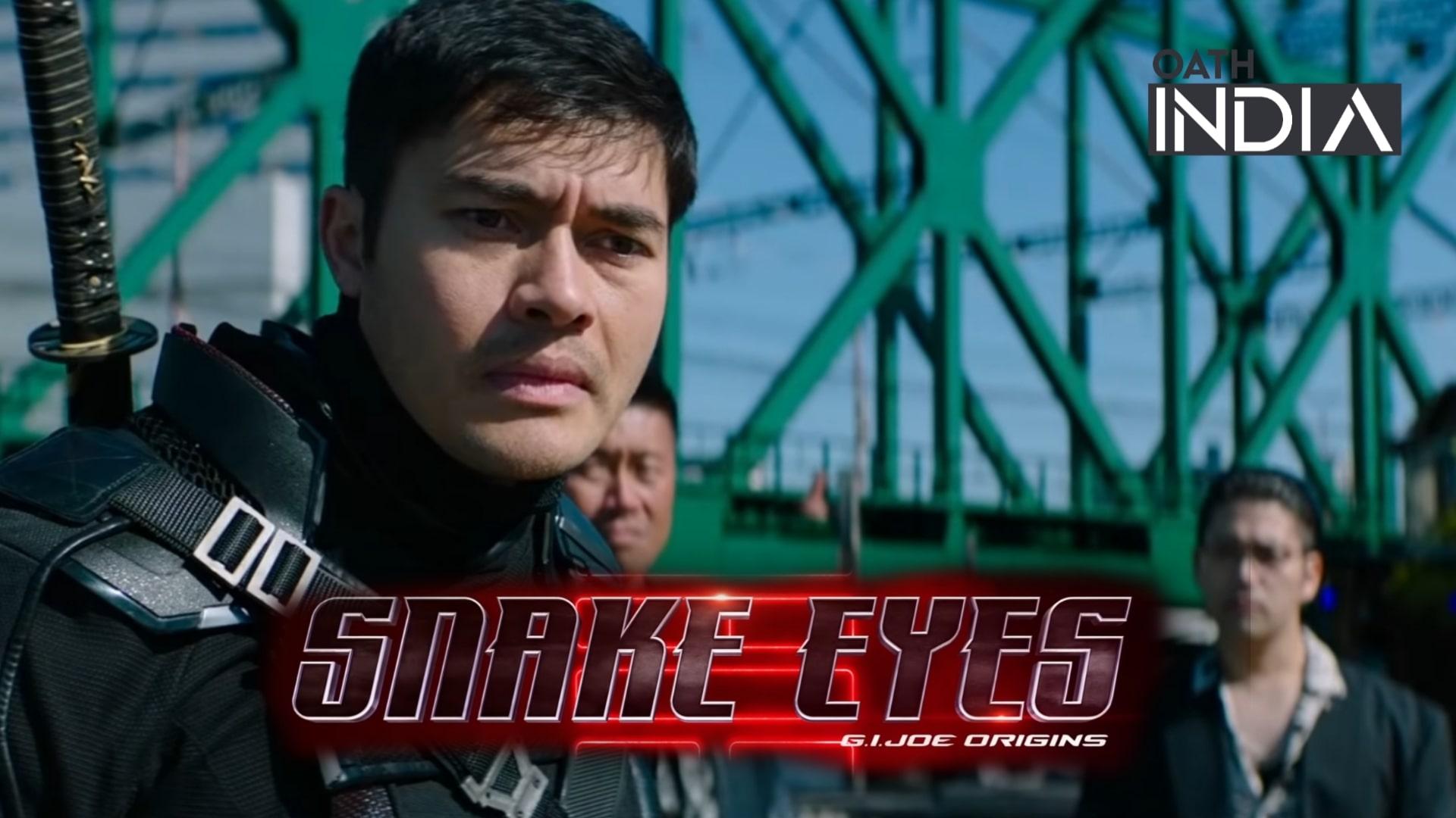 Snake Eyes: G.I. Joe Origins Banner